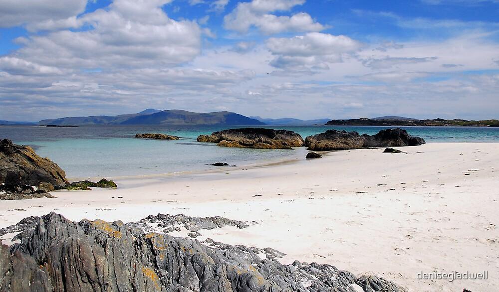 North shore Iona West Scotland by denisegladwell