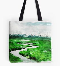 Follow the Stream Tote Bag