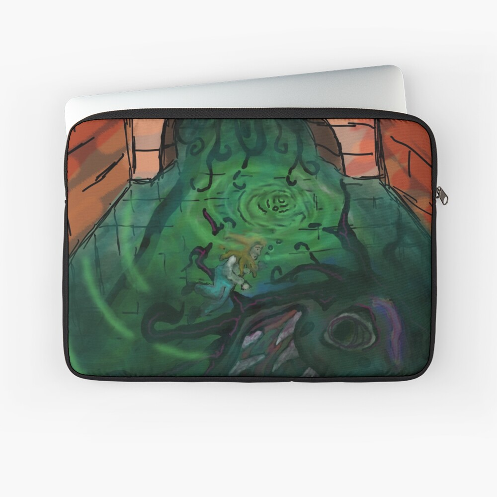 Canals Make Me Feel Eerie Laptop Sleeve