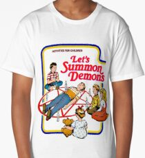 let's summon demons t-shirt funny Long T-Shirt