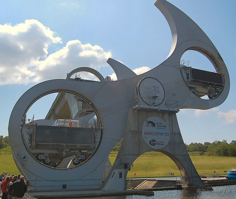 Falkirk Wheel 2 by WilliamtheIVth