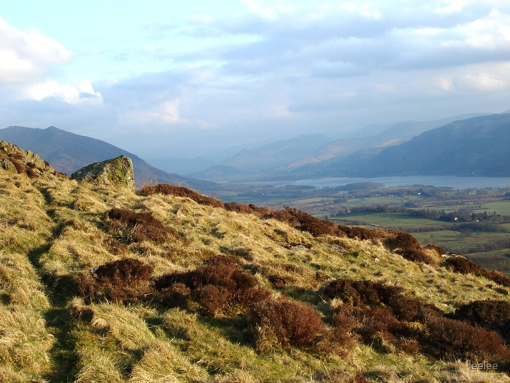 From Binsey over Bassenthwaite Lake by leelee
