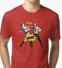 POP PUGILISTS Tri-blend T-Shirt