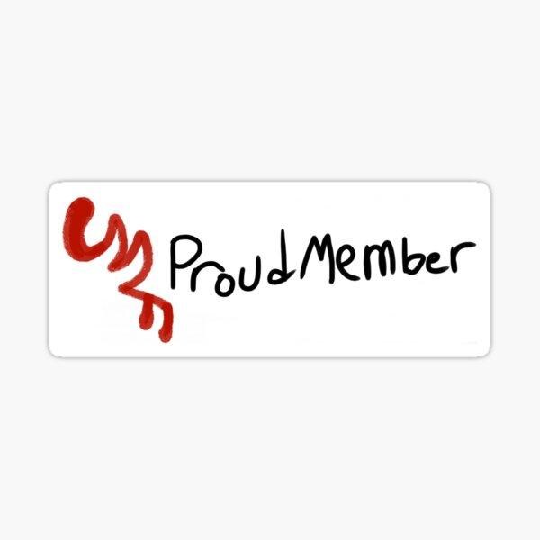Eddsworld- Red Army proud member  Sticker