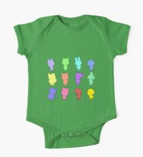Animal Crossing Silhouette Pattern Kids Clothes