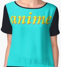 anime Women's Chiffon Top