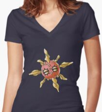 Solrock Women's Fitted V-Neck T-Shirt