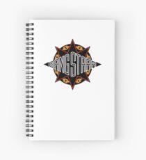 Gangstarr Logo Spiral Notebook