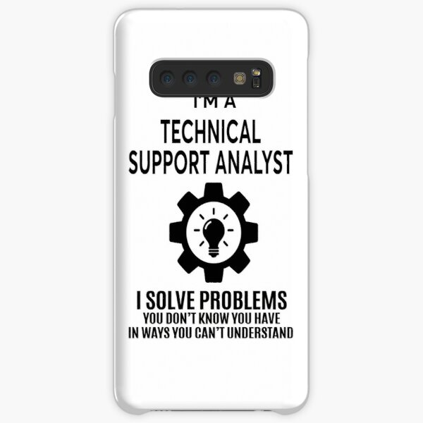 TECHNICAL SUPPORT ANALYST - NICE DESIGN 2017 Samsung Galaxy Snap Case
