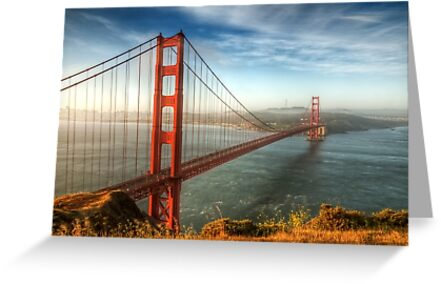 Golden Gate Bridge by Ted Lansing