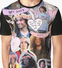 Game Grumps Dan Avidan Collage Graphic T-Shirt