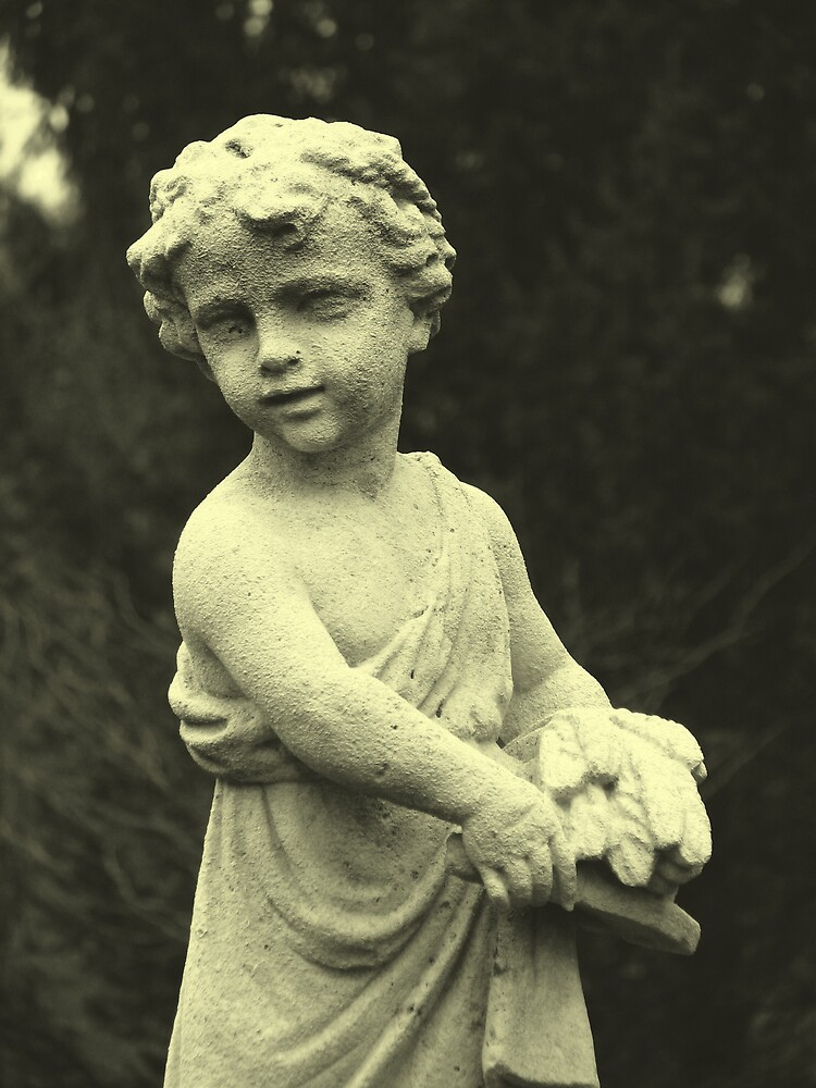 Statue at Lilly House by IndyLady