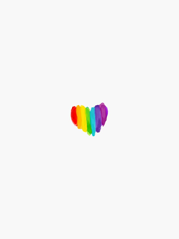 Pride Rainbow Heart by ksheaffs