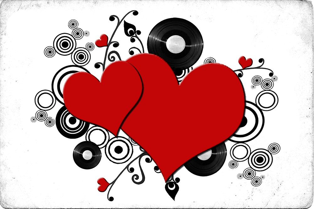 Love is the music of my heart. by Sarah Stallings