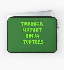 Teenage Mutant Ninja Turtles Words Laptop Sleeve