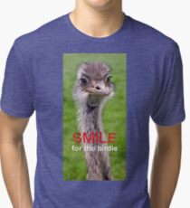 Smile... for the birdie Tri-blend T-Shirt