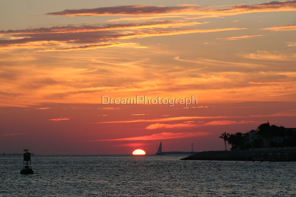 Key West Sunset by DreamPhotograph