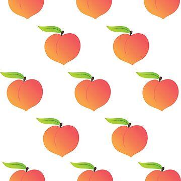 Peach Pattern / Sticker Pack by darrianrebecca