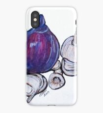 Onion And Garlic iPhone Case