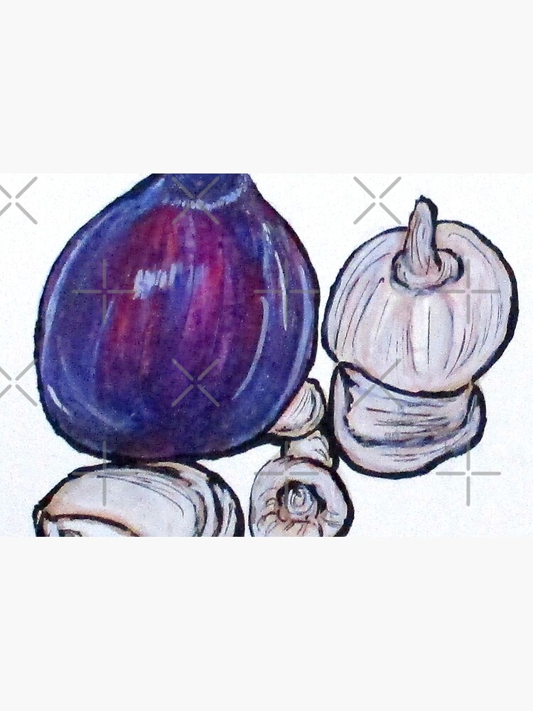 Onion And Garlic by cjkell