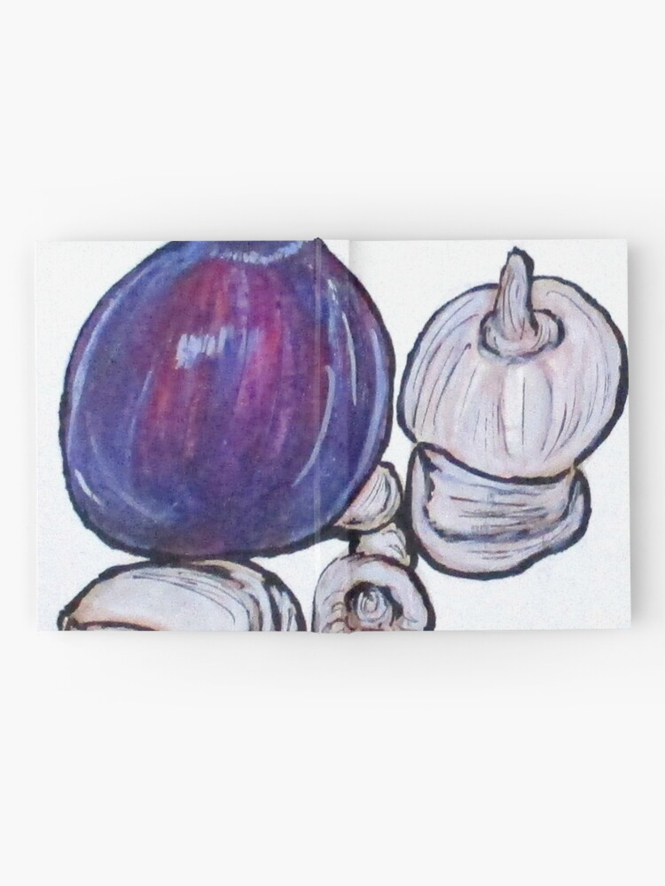 Alternate view of Onion And Garlic Hardcover Journal