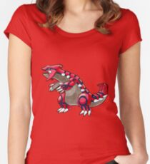 Groudon Women's Fitted Scoop T-Shirt