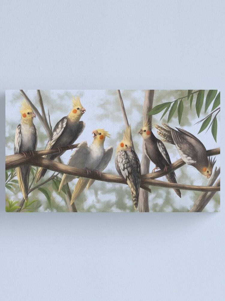Alternate view of Cockatools Canvas Print