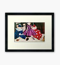 More Marionettes! Framed Print