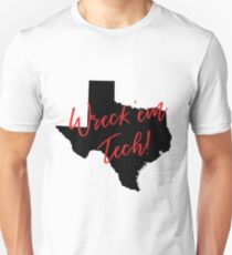 Wreck 'em Tech! Texas Tech Gear T-Shirt