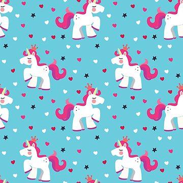 Unicorn Party Pattern by TONYNSANE