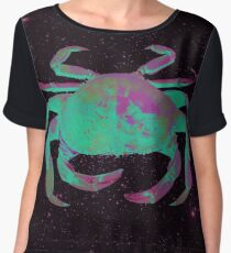 Starry Cancer Crab Women's Chiffon Top