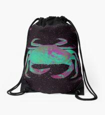 Starry Cancer Crab Drawstring Bag