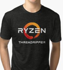 AMD Ryzen Threadripper Tri-blend T-Shirt