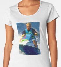 JD on a Jet Ski Women's Premium T-Shirt