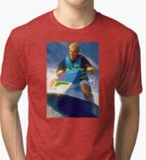 JD on a Jet Ski Tri-blend T-Shirt