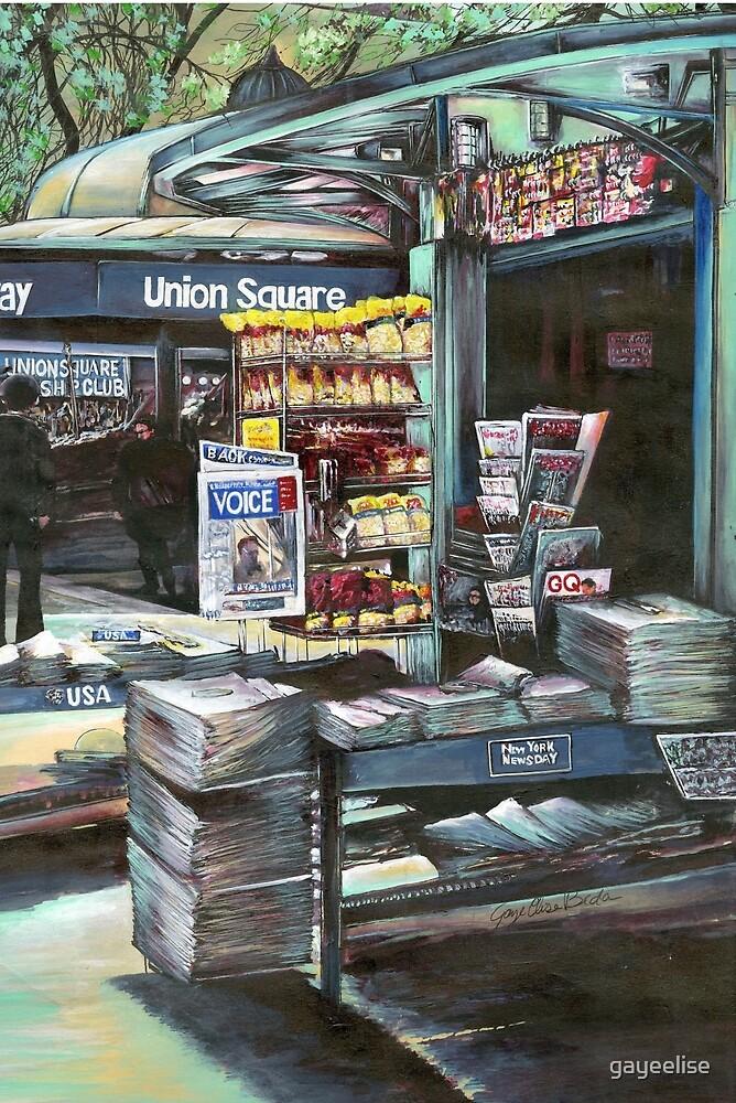 Chrysocolia Morning. Union Square NYC by gayeelise