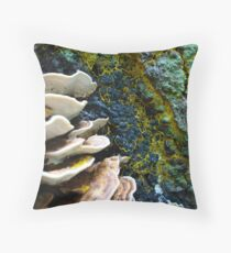 FERTILE OLD STUMP Throw Pillow