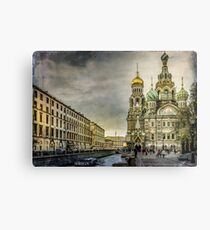 Church of  Savior on Spilled Blood ,Saint-Petersburg Metal Print
