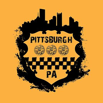 Distress Pittsburgh Sheild by baggss