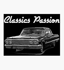 Classics Passion 004 Chevrolet Impala 1963 Photographic Print