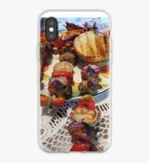 Chicken and Shrimp Kabobs iPhone Case