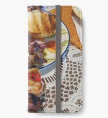 Chicken and Shrimp Kabobs iPhone Wallet/Case/Skin