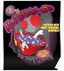 Mothman - O's Cereal  Poster