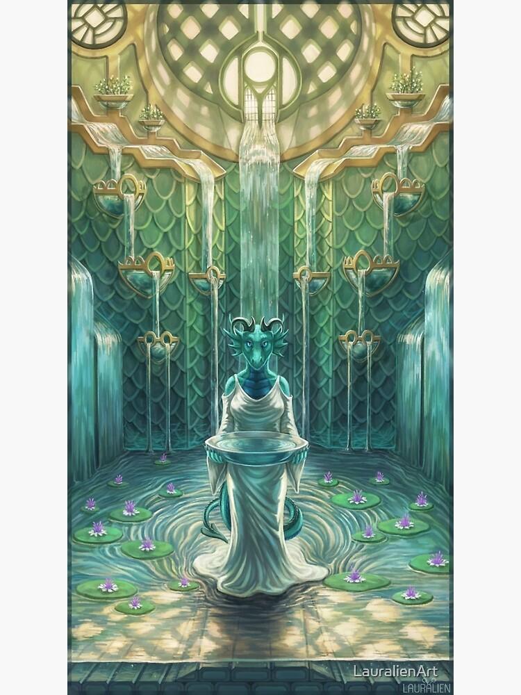 Elemental Temple - Water by LauralienArt