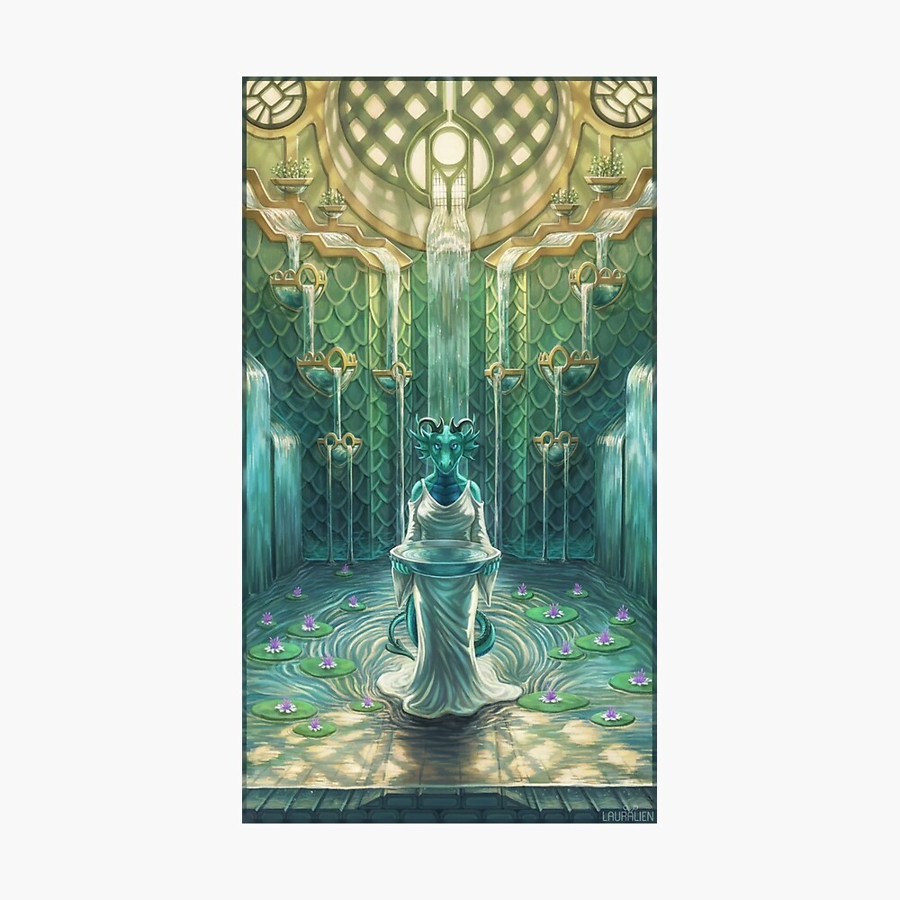 Elemental Temple - Water Photographic Print