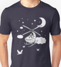 Cute Babycopter Helicopter Artistic Design T-Shirt