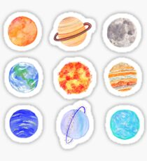 planets sticker pack Sticker