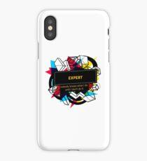 EXPERT iPhone Case/Skin