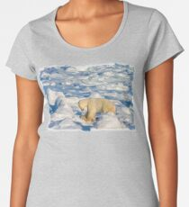 Polar Push to Save Our Sea Ice Women's Premium T-Shirt