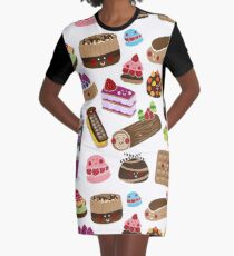 Sweet tooth Graphic T-Shirt Dress